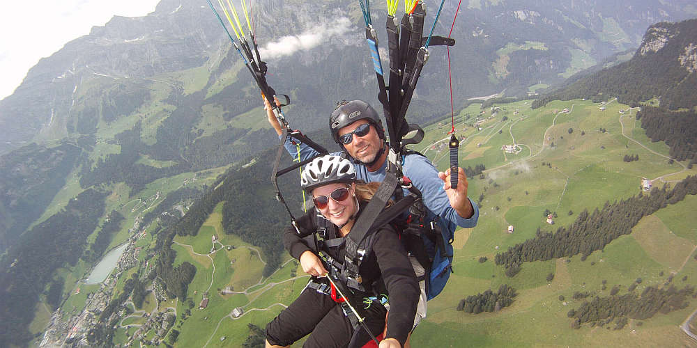 Paragliding tandem flights - Experience the dream of flying